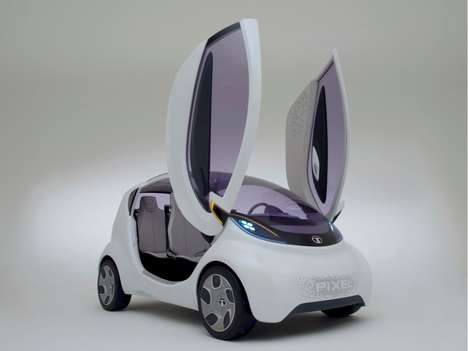 Scissor Door Mini Cars - The Tata Nano 2015 Car Drew Eyes at NAIAS 2014