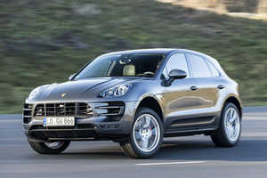The 2015 Porsche Macan Turbo Was Unveiled at the 2014 NAIAS