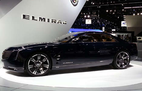 Dynamic Desert-Inspired Cars (UPDATE) - The Cadillac Elmiraj Combines Design with Performance