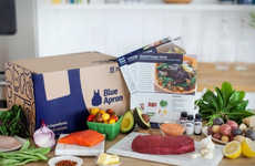 Convenient Mail-Order Meals - Blue Apron Lets You Skip the Hassle of Shopping So You Can Eat Faster