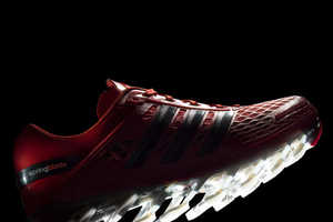 The Adidas Springblade Razor Shoes Have Blades Protruding from the Soles