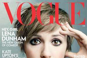 Lena Dunham Makes a Statement in the Vogue February 2014 Issue