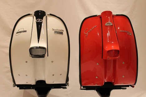 Revived Retro Scooter Chairs - The Lambretta Chair Revives the Scooters Golden Heyday