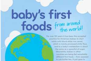 This Baby Food Graphic Shows How Tots are Fed Around the World