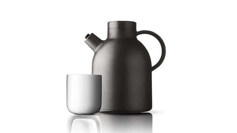 Sleek Pragmatic Beverage Warmers - The Thermo Kettle Jug Keeps Your Coffee Steaming Hot