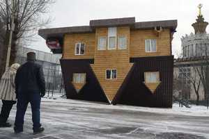 This Upside-Down Home is Located in Russia
