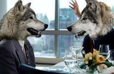 Jimmy Fallon Gets Literal With Wolf Head 'Wolf of Wall Street' Parody