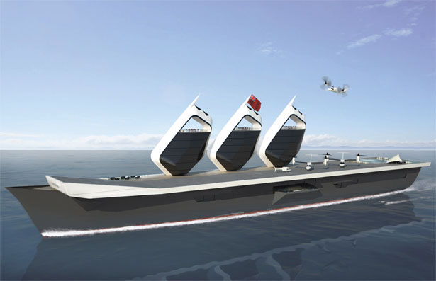 Upgraded Aircraft Carriers