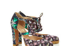 Femininely Psychedelic Footwear