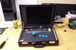Take Your Favorite Games to Work with the Briefcase Arcade Machine