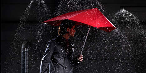 Sturdy Storm-Proof Umbrellas - Stormy Weather is No Match for the Senz Storm Umbrella