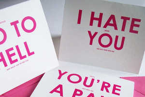 These Valentine's Cards From YesUMaystationery are for Com