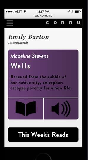 Author-Approved Literature Apps - The Connu Literature App Offers Recommendations From the Greats
