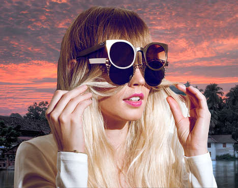 Bold Celebrity Sunwear Campaigns - The Outragious