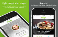 Food-Donating Apps - This Food App Donates Money to Food Banks Every Time You Eat at a Restarant