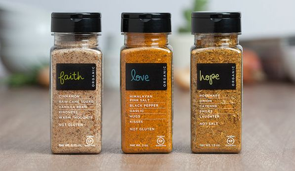 22 examples of spice packaging designs for Home ingredients design