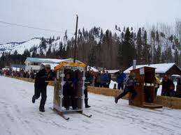 Competitive Outhouse Racing - These Portable Bathrooms Take on Completely New Uses in This Race