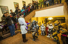 Sci-Fi Costumed Engagements - This Geeky Marriage Proposal Has the Man Dressed as the Predator