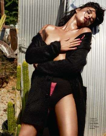 Couture Trailer Park Editorials - The Grazia France Crystal Renn Series is Unexpectedly Posh