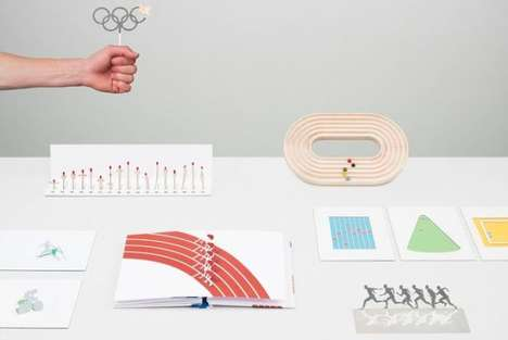 Stylish Sporting Event Paraphernalia - ECAL Design Students Create Alternative Olympic Souvenirs