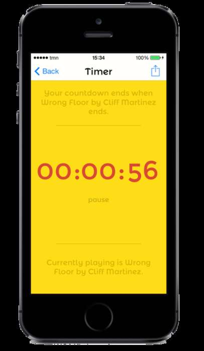 Musical Countdown Apps - The Humming Timing App Uses Your Music Library to Track Time