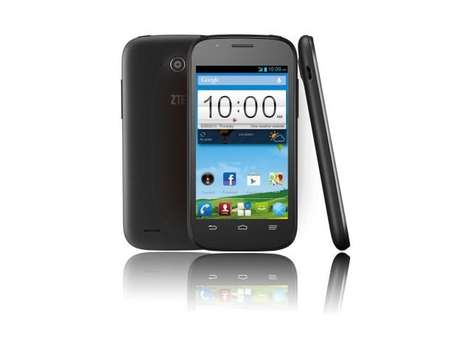 Powerful Pint-Sized Smartphones - The ZTE Blade Q Mini is an All-in-One Smartphone Package