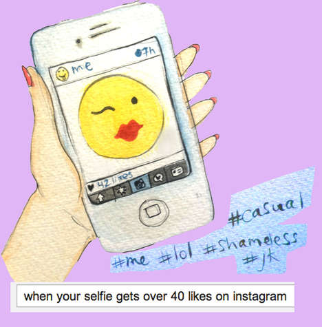 Expressive Fashion Emojis -