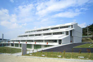 The Nursing Training Center in Okinawa is Sustainable & Responsive