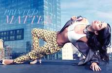Urban Patterned Fashion - The Modern Media China Editorial Stars Sara Sampaio