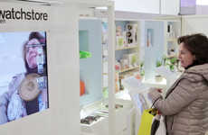 Augmented Reality Retail Shops - The Imagine Shop Takes Retail Shopping for Watches & Yachts Online
