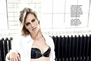 Mark Cant Shot Stephanie Cherry for Cosmopolitan UK February 2014