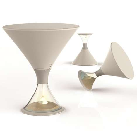 Sand-Operated Night Lights  - The 15 Minutes Sand Lamp Slowly Dulls to Soothe You to Sleep