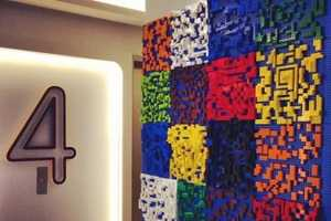 Unleash Your Inner Child with the Yotel Hotel LEGO Wall