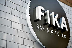 The Fika Bar & Kitchen Makeover Takes on a Quirkier Branding Design