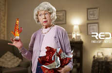 Tasteless Gift Ads - The Red5 Find a Gift They Love Campaign Promotes Easy Shopping Experience