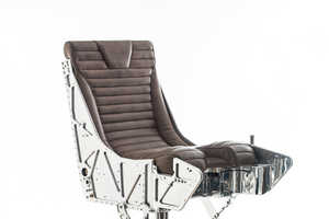 Fly into the Danger Zone on Your Ejector Seat Bar Stools
