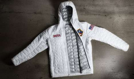 Sporty Stylish Spacewear - These Astronaut Clothes Help You Look Out of This World