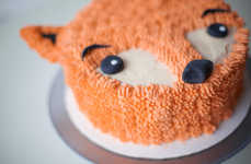 DIY Fox Desserts - This Buttercream Frosted Cake was Made by Baker Lyn­d­say Sung