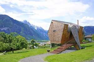 The UFOGEL Holiday House was Designed by Peter Jungmann