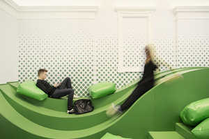 The Svet Vmes Architects Firm Designed This Modern Student Lounge