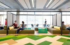Playfully Designed Office Spaces