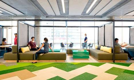 Playfully Designed Office Spaces - Studio O+A is Behind This Vibrant Cisco-Meraki Office Design