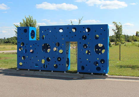 Imaginatively Abstract Playgrounds - Free Play by Dan Schreibman Feeds Children's Creativity