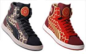 13 Exuberant Eastern Honoring Sneakers - Bring in the Chinese New Year with These Stylish Sneakers