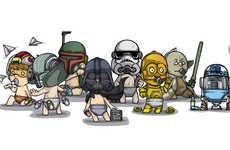 Infantile Sci-Fi Art