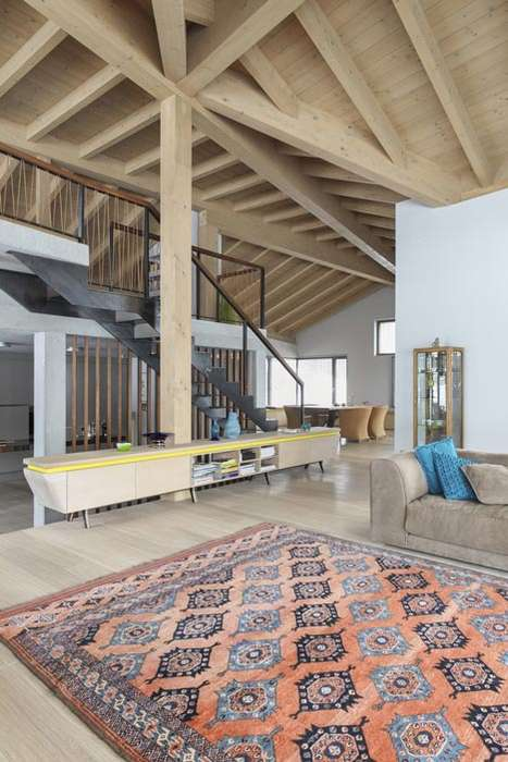 Agriculture Lifestyle-Inspired Homes - Mostlikely's the Barn is a Beautiful Alpine Lodge