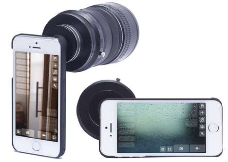 Professional Smartphone Lens Adapters - The Turnikit iPhone Lens Adapter Captures Quality Photos