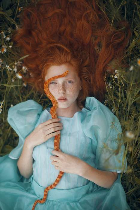 Fantastical Female Portraits - Photographer Katerina Plotnikova Captures Fairytale-Like Scenarios