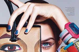 Richard Burbridge Shoots Accessories for Harper's Bazaar US Februar