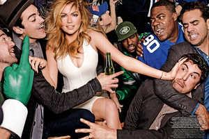Mario Testino Captured Kate Upton for Vogue US February 2014